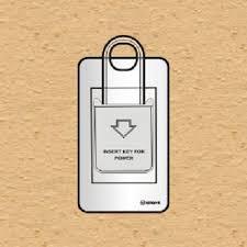 Bộ chìa khóa ngắt điện 20A có đèn báo chìa khóa kiểu B